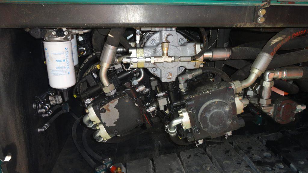 Amca ventielblok voor bestaande asfaltmachine