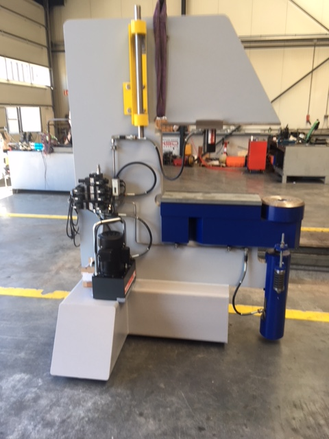 Opbouw pers 700 bar